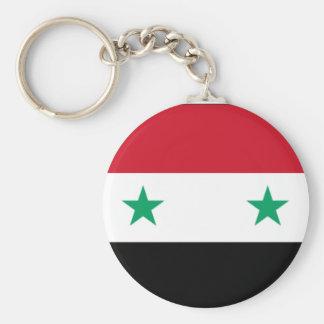 Porte-clés Porte - clé syrien de drapeau