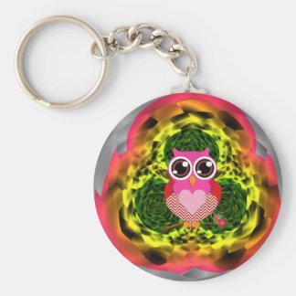 Porte-clés Porte - clé très mignon de bouton de coeur de