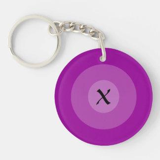 Porte-clés Porte - clé - trois cercles concentriques