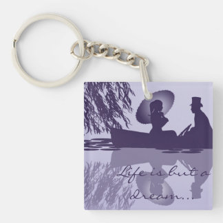Porte-clés Porte - clé victorien de bateau à rames