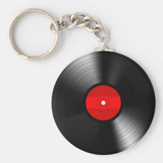 Porte-clés Porte - clé vintage de disque vinyle