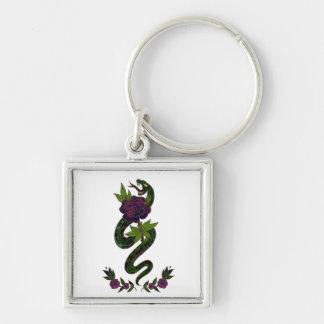 Porte-clés Porte - clé vintage de fleur de serpent de