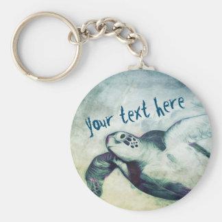 Porte-clés Porte - clé volant de la tortue de mer verte |
