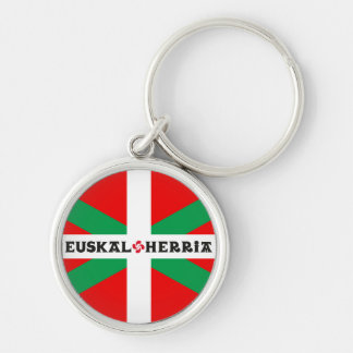 "Porte-clés Porte Clés Drapeau Basque ""Ikkurina"""