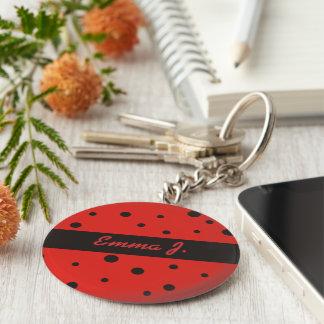 Porte-clés Porte - clés nommés personnalisés par motif de