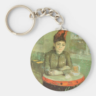 Porte-clés Portrait d'Agostina Segatori par Vincent van Gogh