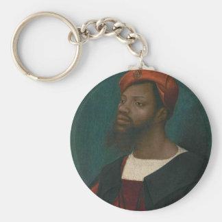 Porte-clés Portrait d'un homme africain