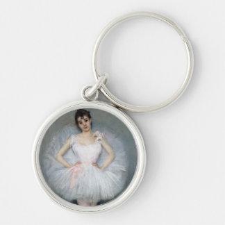 Porte-clés Portrait d'une jeune ballerine