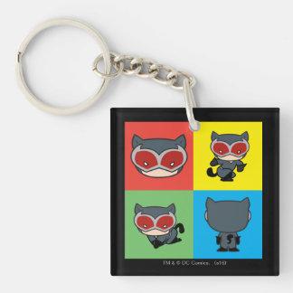 Porte-clés Poses de caractère de Catwoman de Chibi