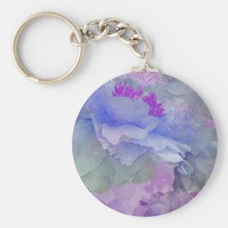 Porte-clés Pot-pourri floral avec les pivoines 4