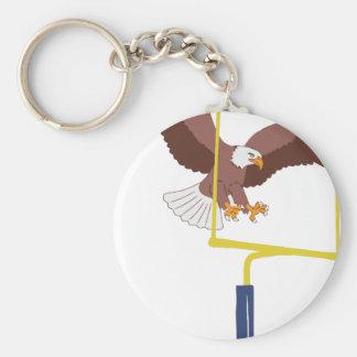 Porte-clés poteau de but d'aigle