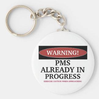 Porte-clés Poussin d'avertissement avec le porte - clé de PMS