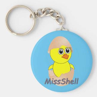 Porte-clés Poussin MissShell