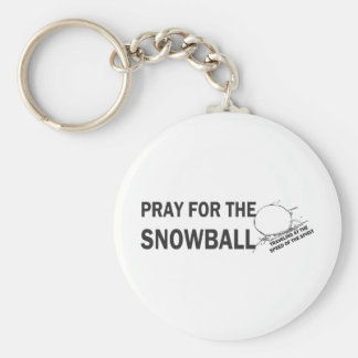 Porte-clés Priez pour l'atterrisseur de Snowball