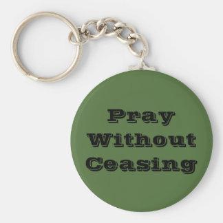 Porte-clés Priez sans cessation