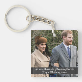 Porte-clés Prince Harry et mariage royal 2018 de Meghan