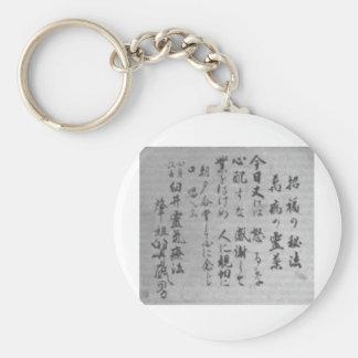 Porte-clés Principes de Reiki