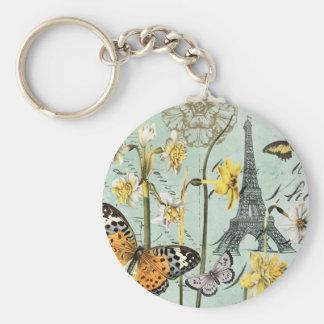 Porte-clés Printemps vintage dans le porte - clé de Tour