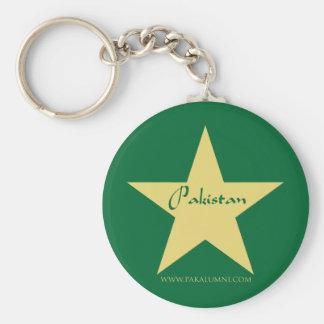 Porte-clés Produits d'étoile d'or du Pakistan