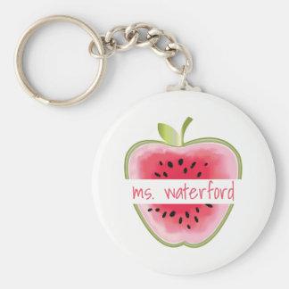Porte-clés Professeur d'Apple de pastèque