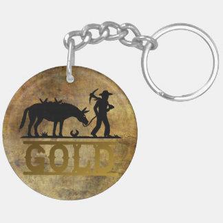 Porte-clés Prospecteur d'or