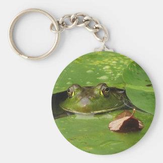 Porte-clés Protections de grenouille et de lis