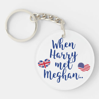 Porte-clés Quand Harry a rencontré le mariage royal