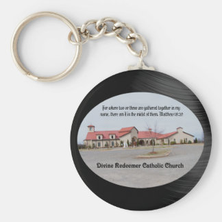 PORTE-CLÉS RÉDEMPTEUR DIVIN CHURCH-KEYCHAIN CATHOLIQUE