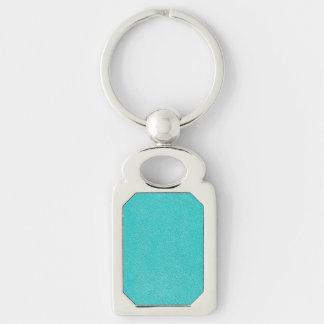 Porte-clés Regard bleu d'Ultrasuede d'Aqua