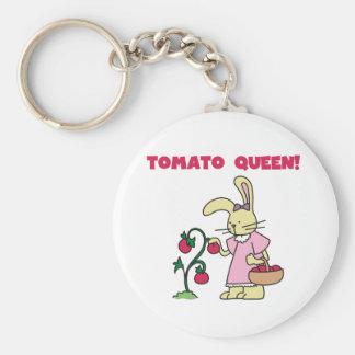 Porte-clés Reine de tomate