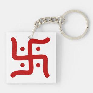Porte-clés religion indoue traditionnelle indienne de symbole