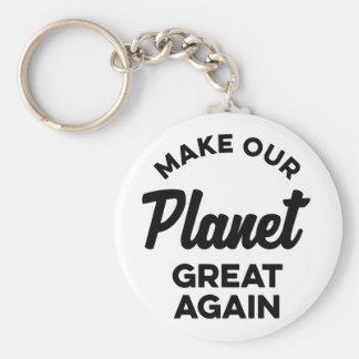Porte-clés Rendez notre planète grande encore