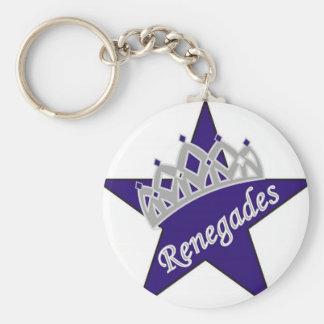 Porte-clés Renégats royaux Cheerleading
