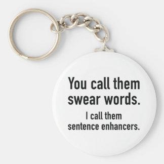 Porte-clés Renforceurs de phrase