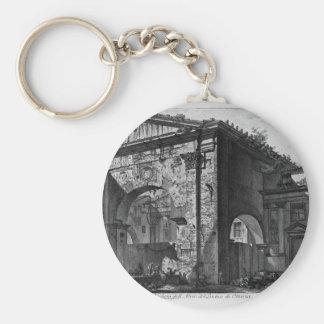 Porte-clés Restes d'un porche couvert, ou cryptoporticus