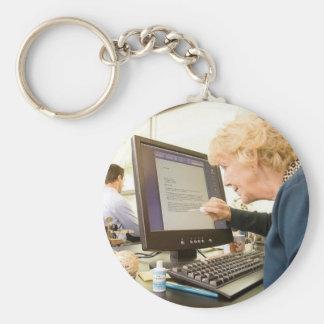 Porte-clés Retraite anticipée