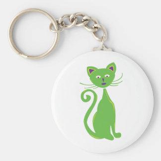 Porte-clés Rétro chat frais