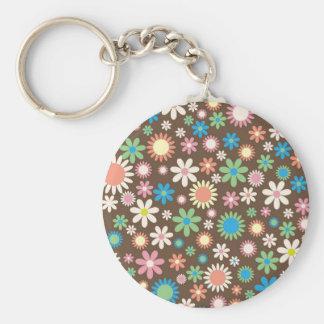 Porte-clés Rétro porte - clé mignon de conception de fleur