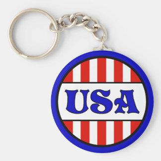 Porte-clés Rétro style des Etats-Unis