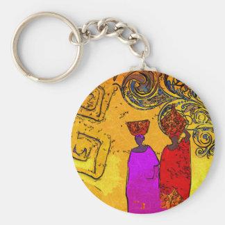 Porte-clés Rétros cadeaux vintages de style de l'Afrique