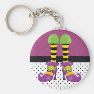 Porte-clés Rétros chaussures géniales de sorcière de