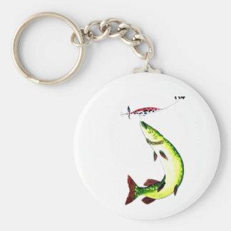 Porte-clés Rêve frappant de fishermans de Pike