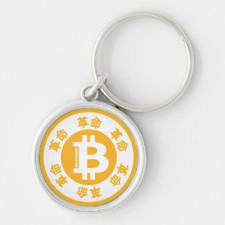 Porte-clés Révolution de Bitcoin (version chinoise)