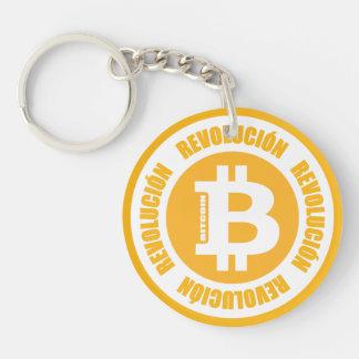 Porte-clés Révolution de Bitcoin (version espagnole)