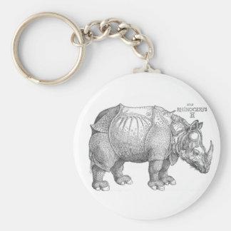 Porte-clés Rhinocéros