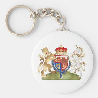 Porte-clés Richard le manteau de coeur de lion du bras
