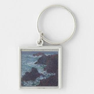 Porte-clés Roches de Claude Monet | au Belle-Ile, la côte