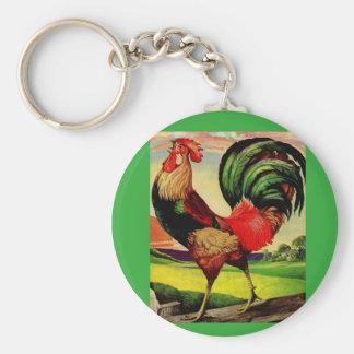 Porte-clés Rocheux le coq beau