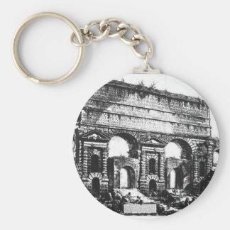 Porte-clés Rome. Porta Maggiore. Giovanni Battista Piranesi