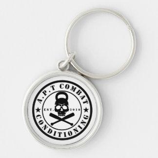 Porte-clés rond de la meilleure qualité du logo 1